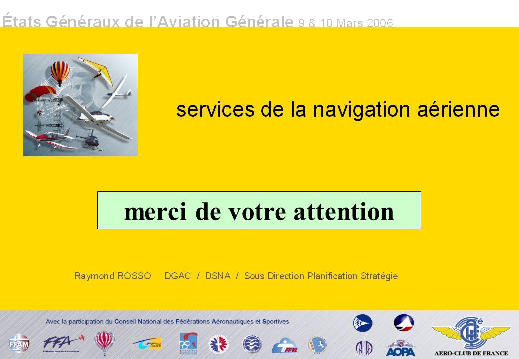 États Généraux de lAviation Générale 9 & 10 Mars 2006 merci de votre attention