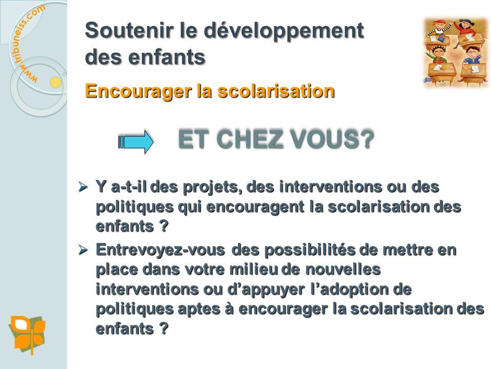 Exemple 2 : École promotrice de santé, Haïti Création au ministère de lÉducation Nationale et de la Formation Professionnelle dHaïti dune Direction de