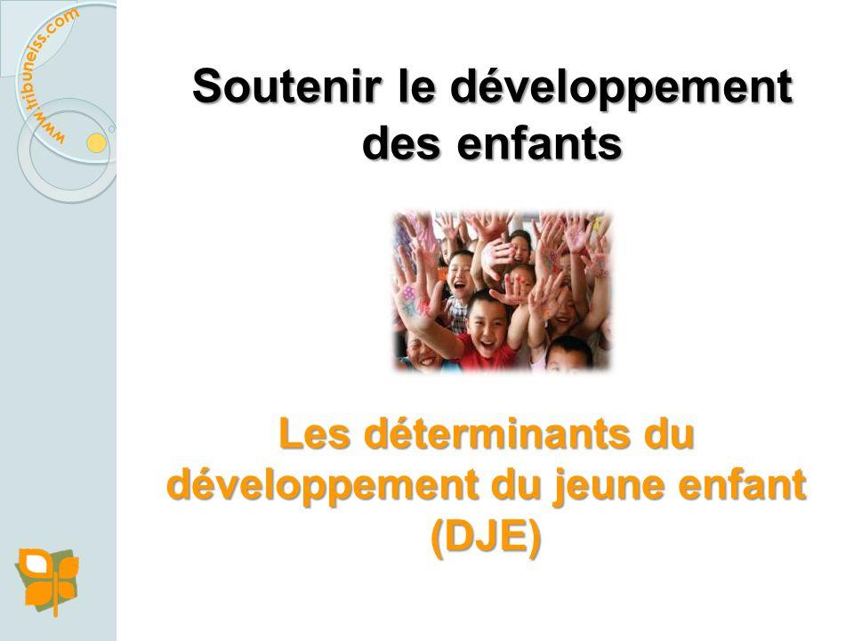 Les investissements dans le développement du jeune enfant sont les investissements les plus efficaces que les pays peuvent faire pour : Réduire le far