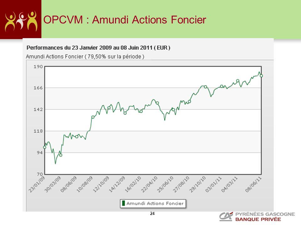 24 OPCVM : Amundi Actions Foncier