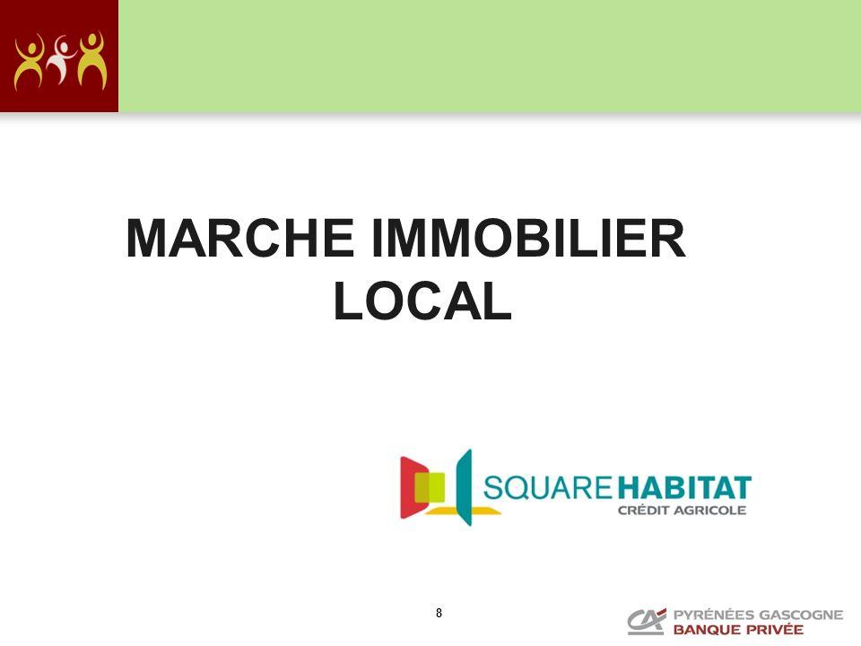 9 LE MARCHE PALOIS Dans lancien : Une stagnation des prix: –Les appartements avec stationnement en centre ville bien placés (cœur de ville piéton) voient leurs prix remonter légèrement.