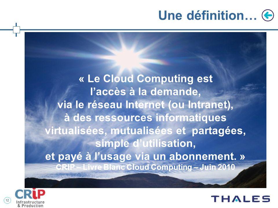 11 @ Internet Intranet @ Les Serveurs Web sexécutent sur des infrastructures virtuelles
