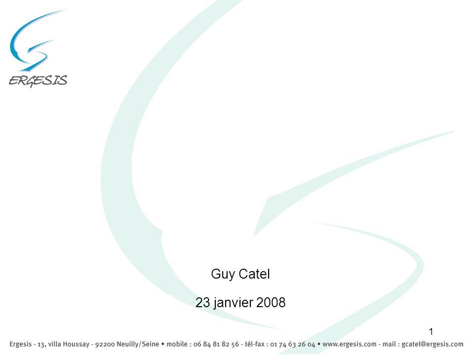 1 Guy Catel 23 janvier 2008