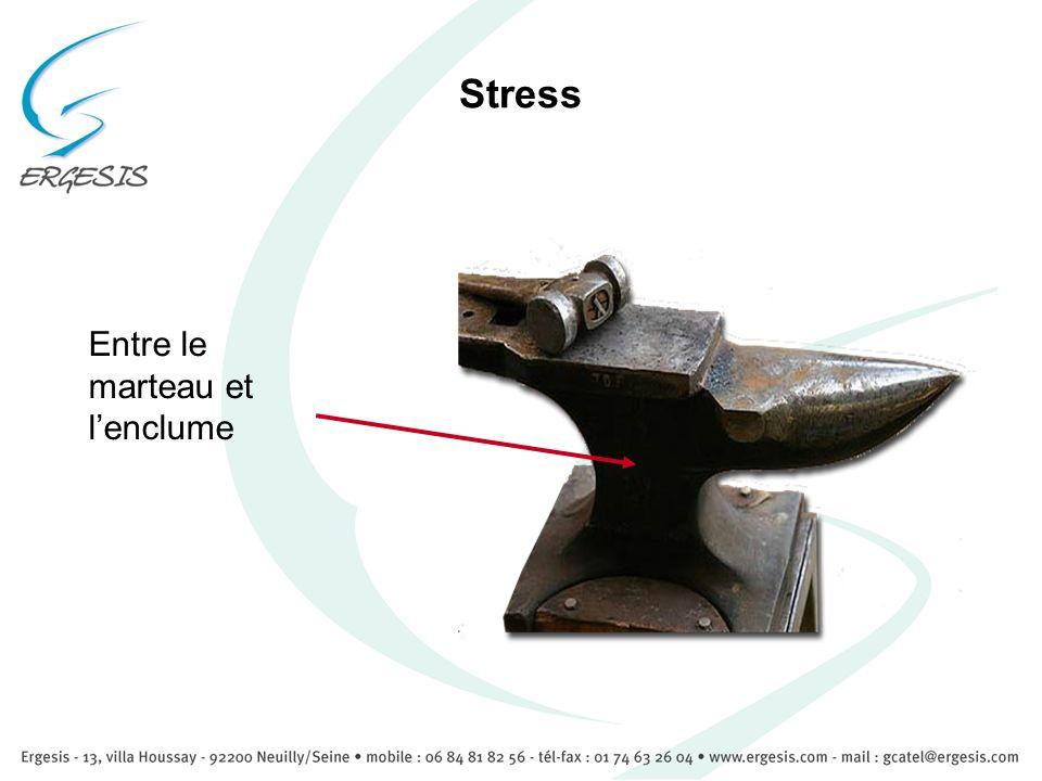 Stress Entre le marteau et lenclume