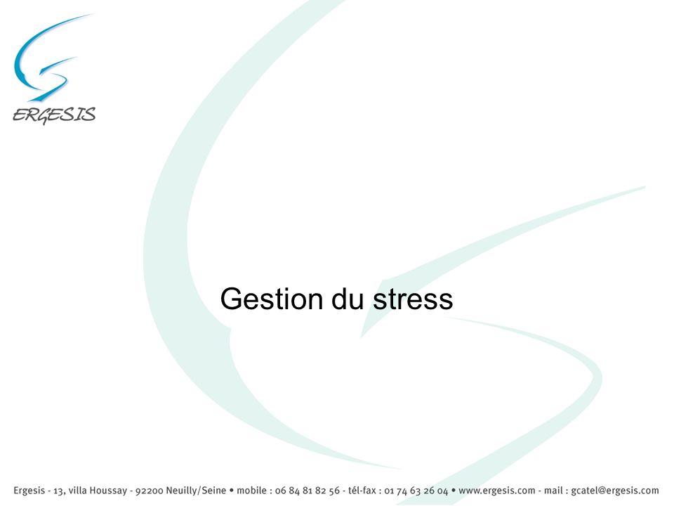 Comment gérer le stress Comment récupérer vos forces, l énergie et la paix de l esprit qui vous ont été ôtés par ce stress trop élevé ?