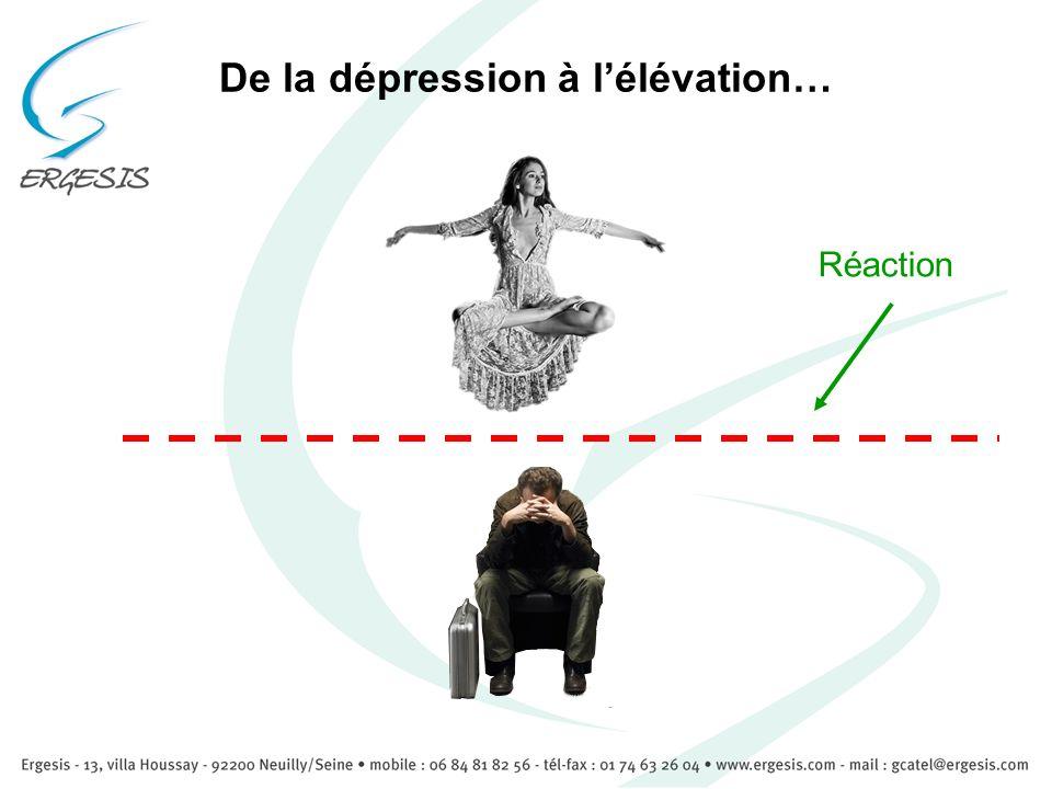 De la dépression à lélévation… Réaction
