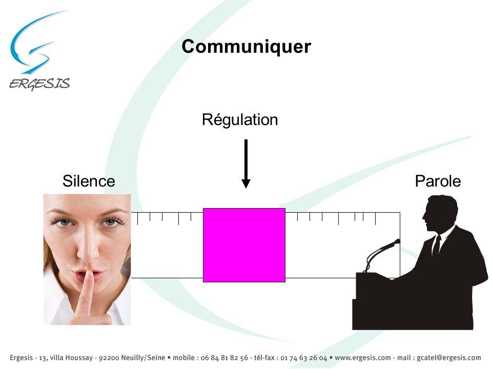 Communiquer SilenceParole Régulation