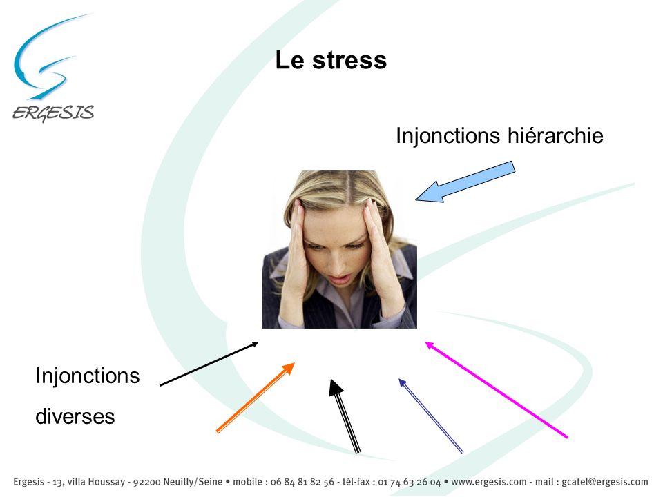 Ne pas inscrire le stress ! 35/ 50 secondes max pour inscrire linformation