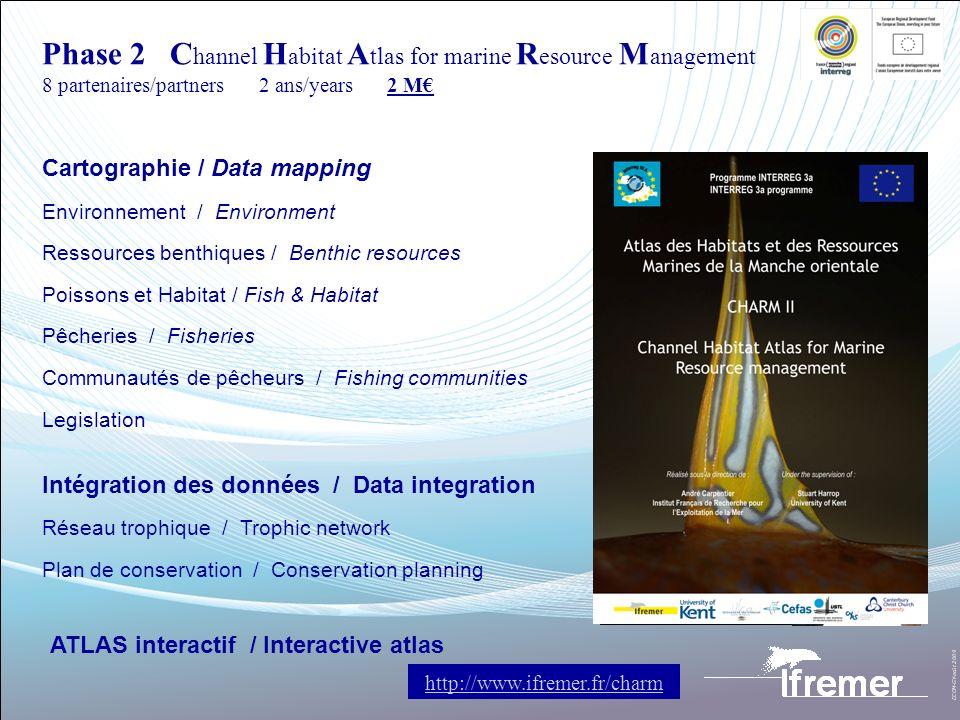 Cartographie / Data mapping Environnement / Environment Ressources benthiques / Benthic resources Poissons et Habitat / Fish & Habitat Pêcheries / Fis