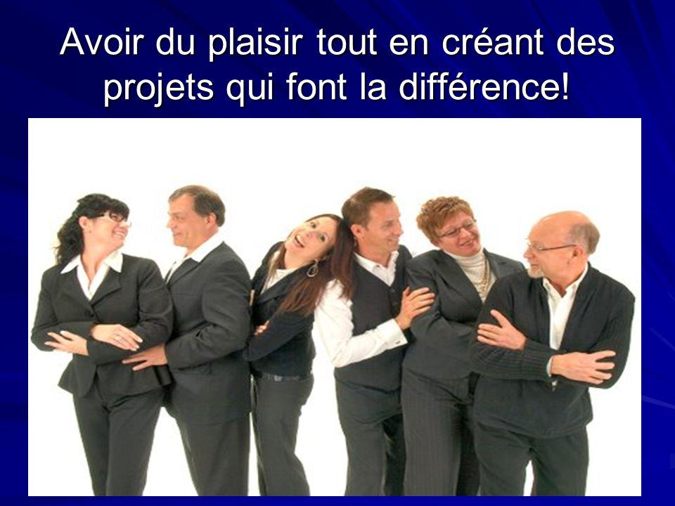 Janvier 2005 Serida Marketing Group 27 Avoir du plaisir tout en créant des projets qui font la différence!