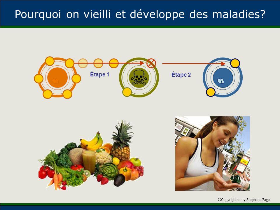 ©Copyright 2009 Stephane Page Maladie Cardiaque Cancer Pourquoi on vieilli et développe des maladies.