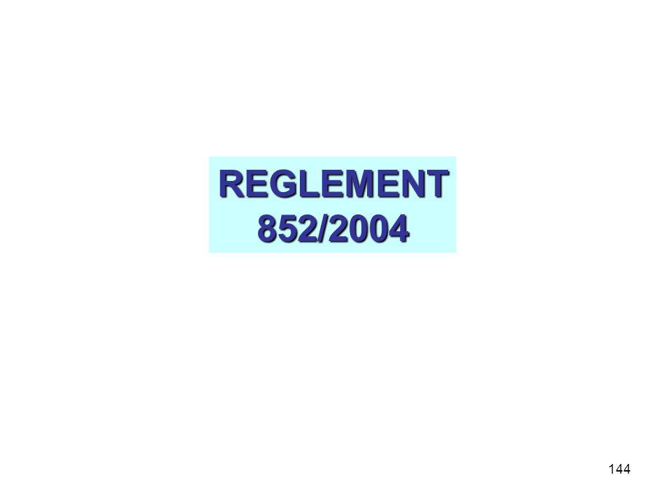 144 REGLEMENT852/2004