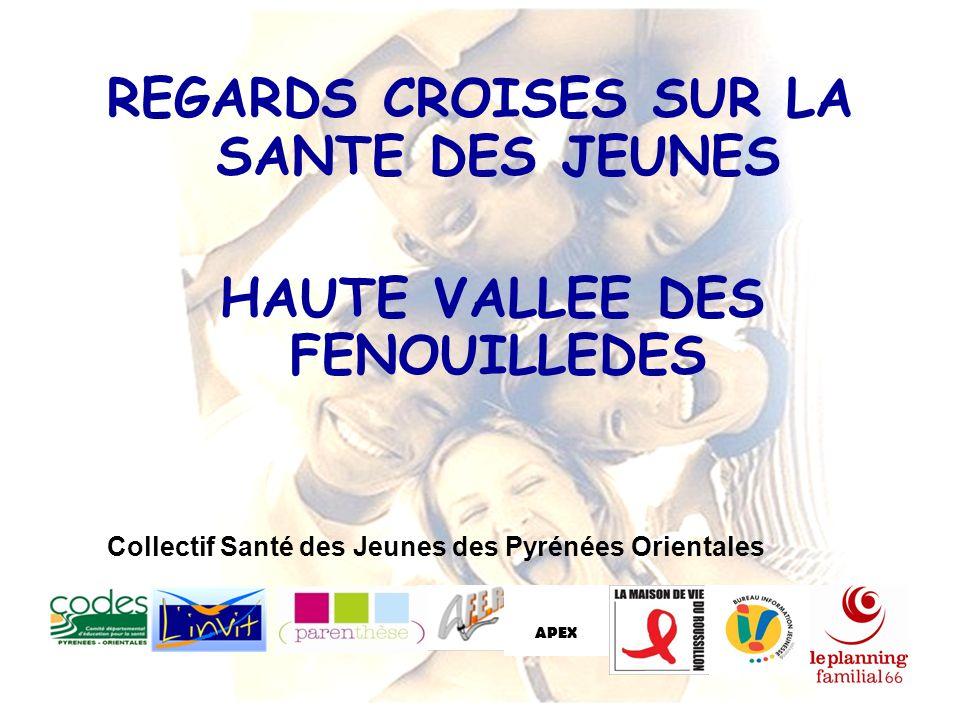 REGARDS CROISES SUR LA SANTE DES JEUNES HAUTE VALLEE DES FENOUILLEDES APEX Collectif Santé des Jeunes des Pyrénées Orientales
