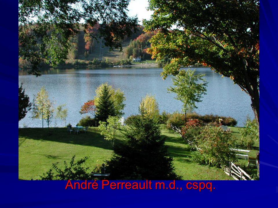 André Perreault m.d., cspq.