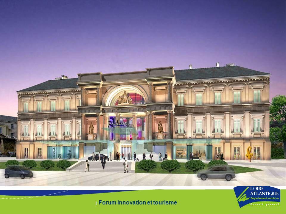 | Forum innovation et tourisme La Mutation du quartier Projet architectural
