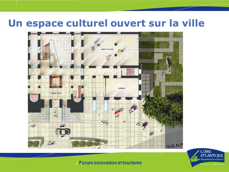 | Forum innovation et tourisme Un espace culturel ouvert sur la ville