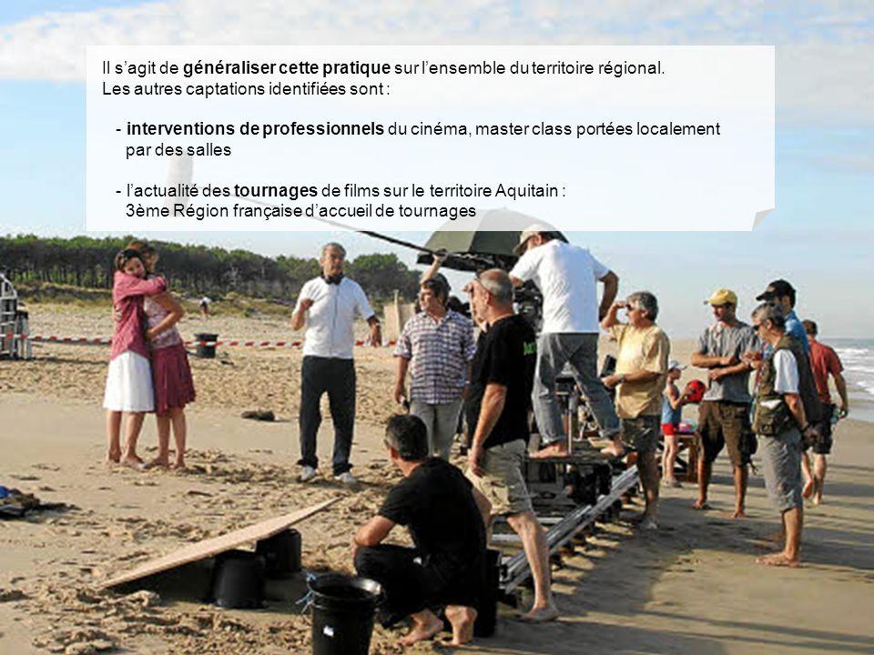 14/01/11 - ACPA Il sagit de généraliser cette pratique sur lensemble du territoire régional. Les autres captations identifiées sont : - interventions