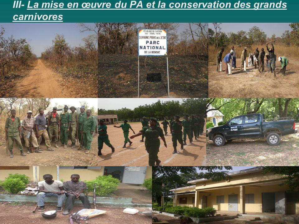 III- La mise en œuvre du PA et la conservation des grands carnivores
