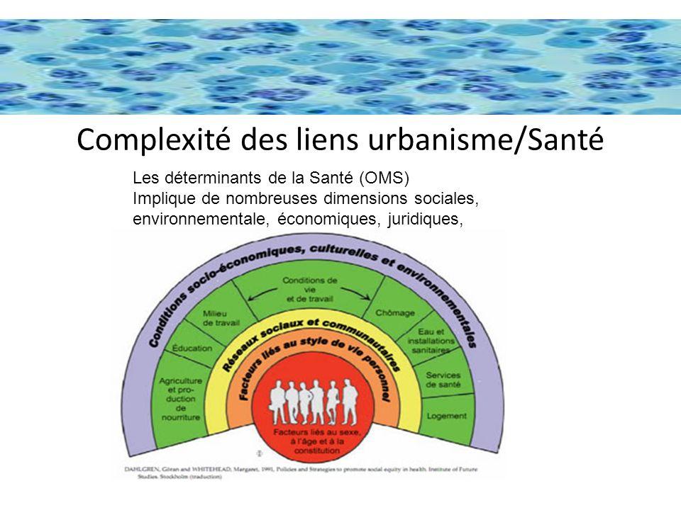 De multiples dimensions, pour un urbanisme des quartiers favorable a la santé