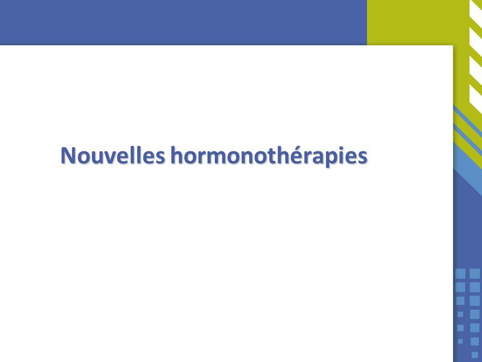 Nouvelles hormonothérapies