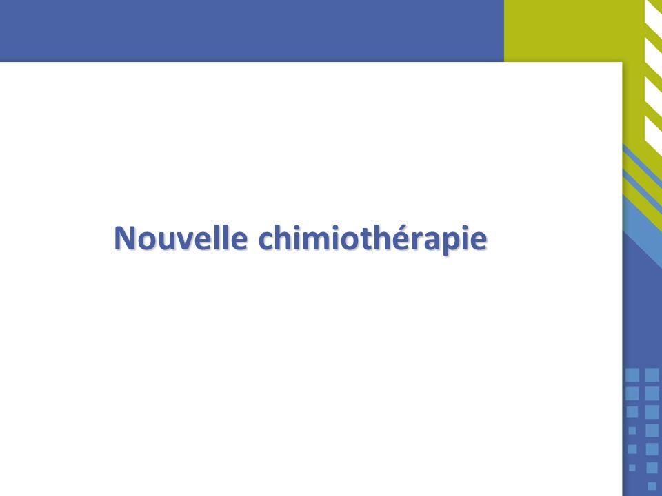 Nouvelle chimiothérapie