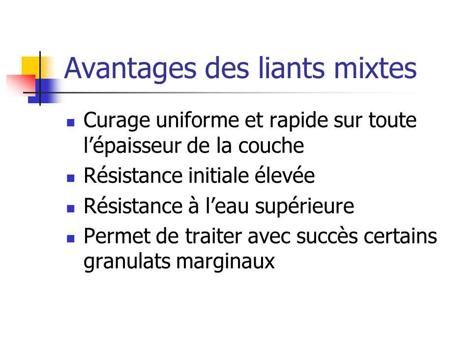 Source: A.A Loudon & Partners, 1998 T-2 1 -3 X10 ECAS T-3 3 -10 X10 ECAS 11.2913.4015.9927.7521.41 T-4 10-30 X10 ECAS T-5 30-100 X10 ECAS T-1 0,3-1,0 X10 ECAS Structures typiques incluant une stabilisation aux liants mixtes