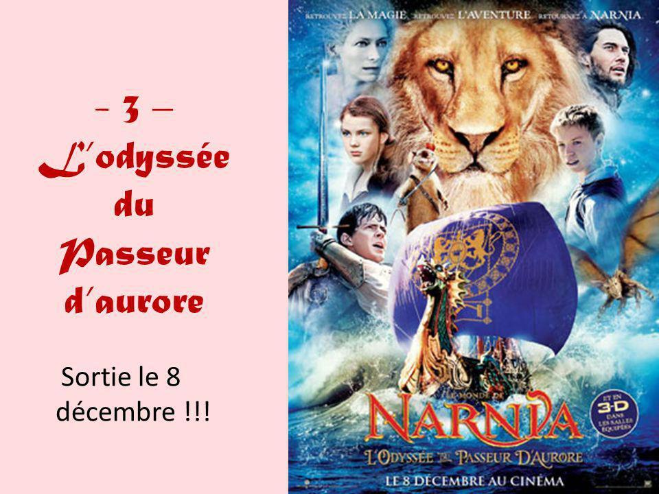 - 3 – Lodyssée du Passeur daurore Sortie le 8 décembre !!!