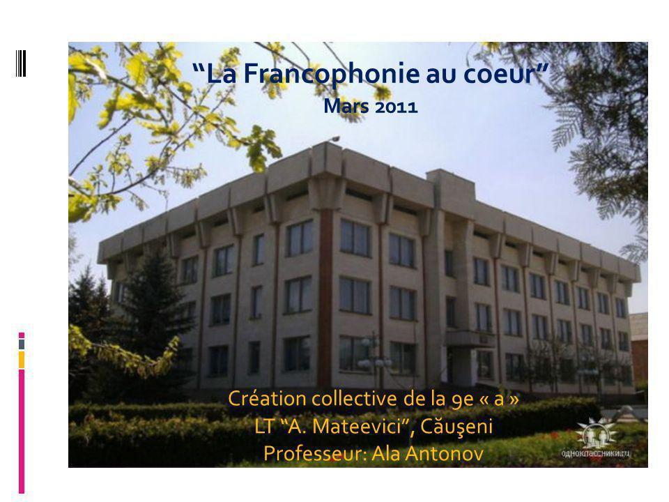 Образец подзаголовка Création collective de la 9e « a » LT A.