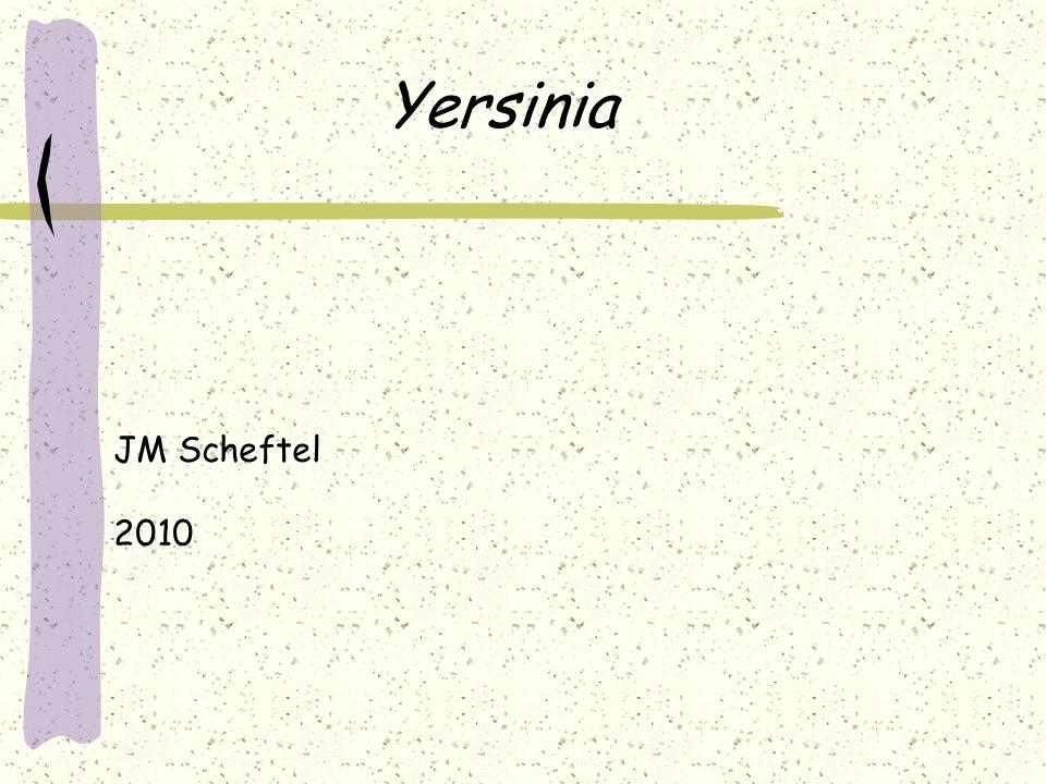 Yersinia Le nom du genre Yersinia a été officialisé en 1974 en hommage au bactériologiste Alexandre Yersin qui a isolé le premier le bacille de la peste en 1894 à Hong-Kong (né en 1863 et mort en 1943 à Nha Trang (Vietnam)).