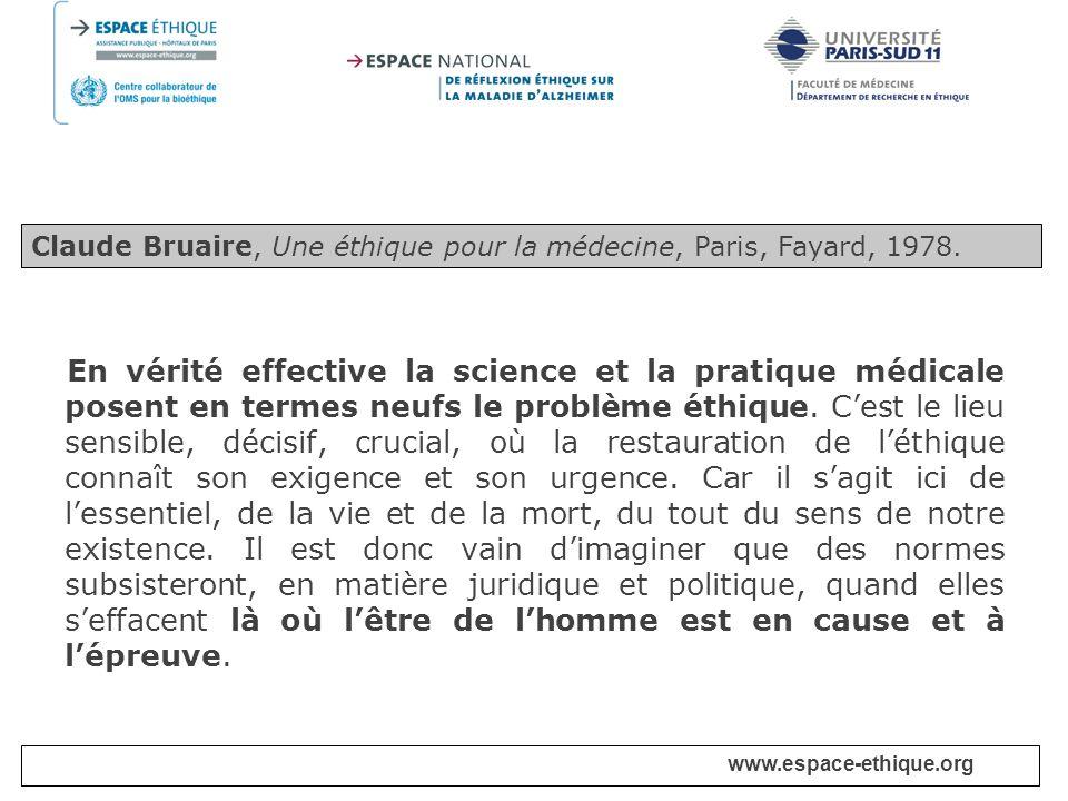 www.espace-ethique.org Chapitre I – Dispositions générales Article 1.