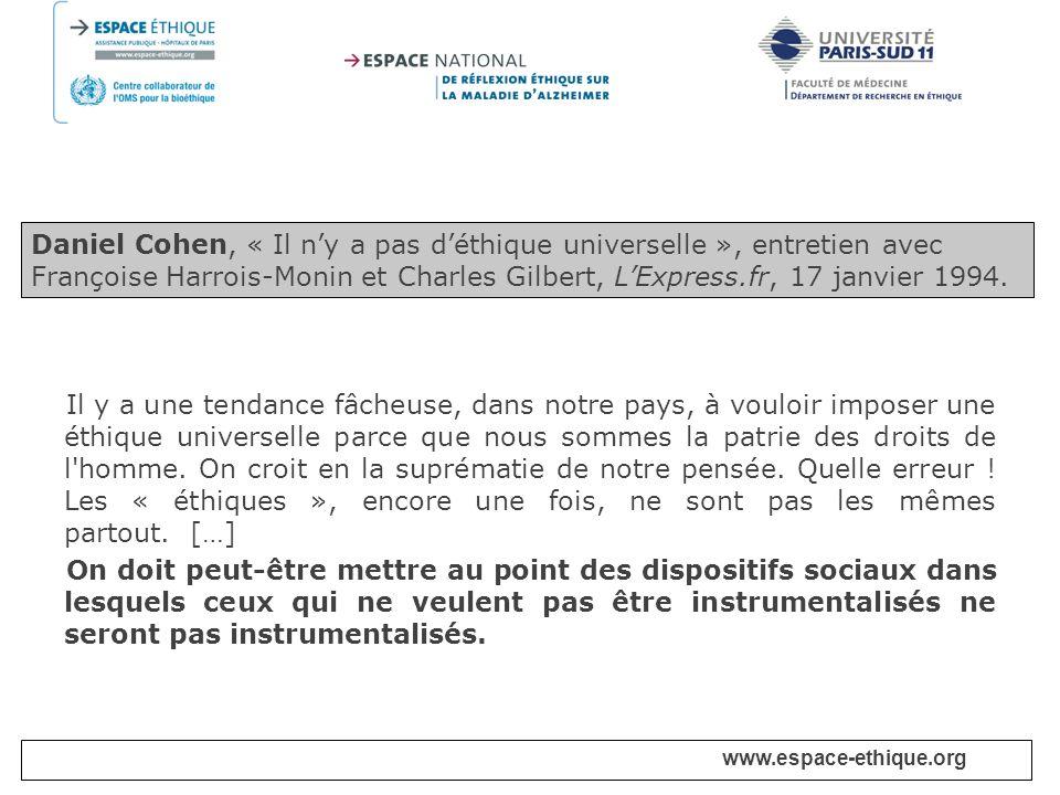 www.espace-ethique.org Chapitre IV - Génome humain Article 11.