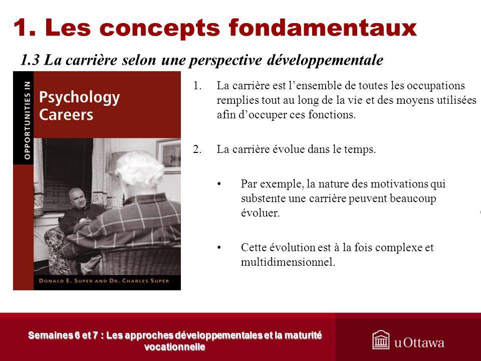 Cest après 1945 que commence à émerger les approches développementales reliées au choix de carrière. Ginzberg, Ginburg, Axelrad et Herma (1951) avance