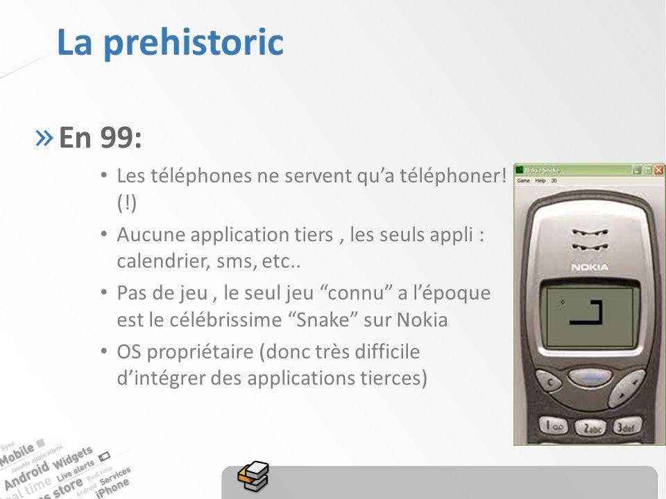 La prehistoric » En 99: Les téléphones ne servent qua téléphoner.