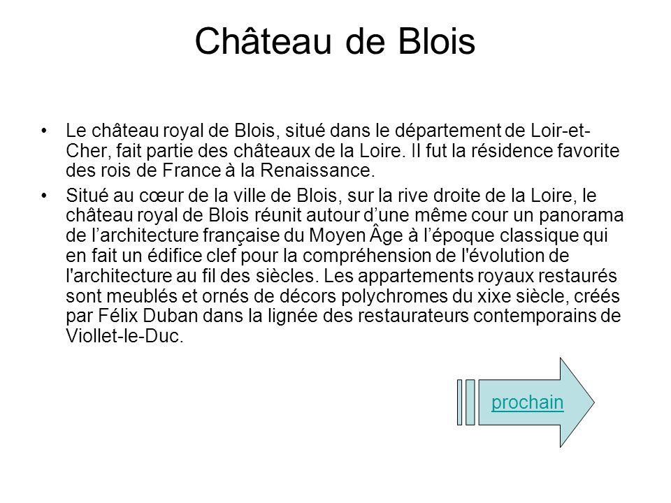 Château de Chambord Le château de Chambord est un château français situé dans la commune de Chambord, le département de Loir-et-Cher et la région Cent