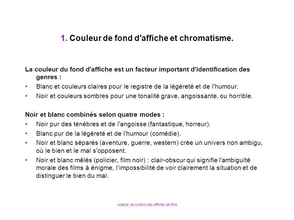 8.Comparaison affiches françaises / affiches américaines.