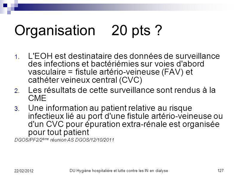 Indicateur Hémodialyse Indicateur sur 100 points Un classement en ABCDE 3 domaines : Organisation ~ 20 points ? Moyens ~ 28 points ? Actions ~ 52 poin