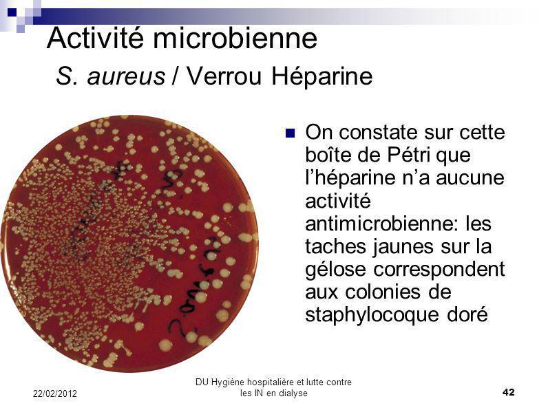Citralock ® Neutrolin données in vivo Images SEM de la surface interne de cathéters Neutrolin: activité antimicrobienne Surface interne de la lumière