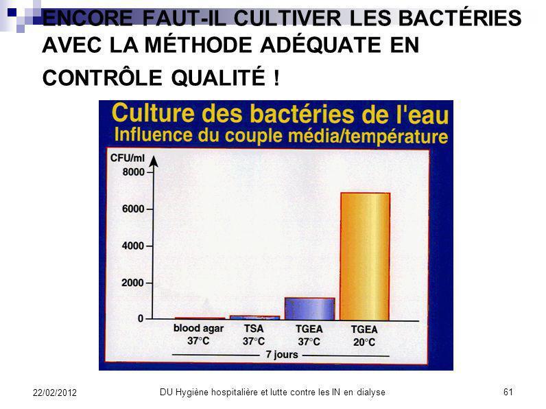 DU Hygiène hospitalière et lutte contre les IN en dialyse60 22/02/2012