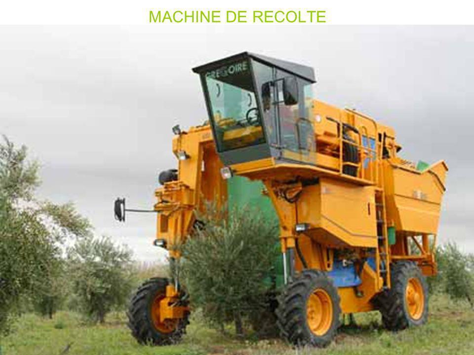 MACHINE DE RECOLTE