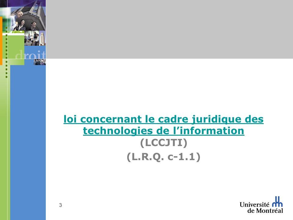 54 19 et s. LCCJTI 2 – conservation