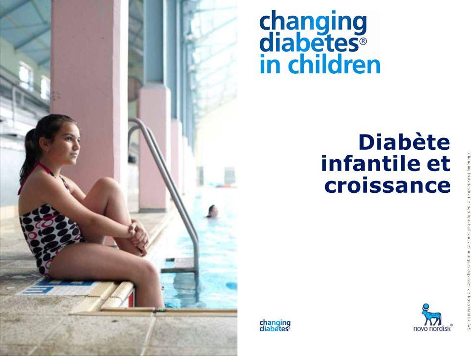 Changing Diabetes ® et le logo Apis bull sont des marques d é pos é es de Novo Nordisk A/S Diabète infantile et croissance