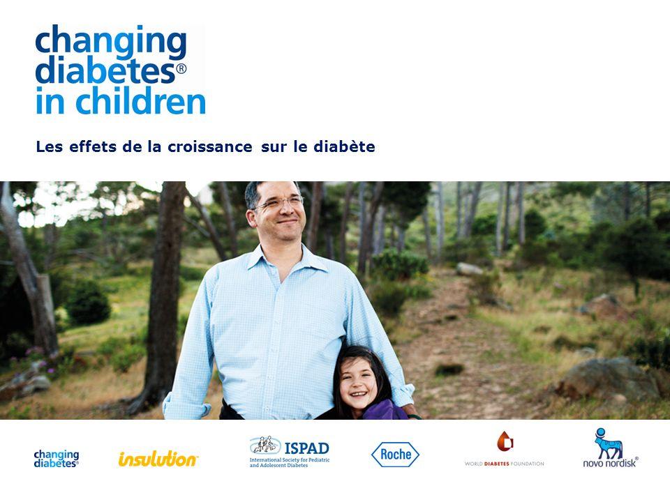 Les effets de la croissance sur le diabète
