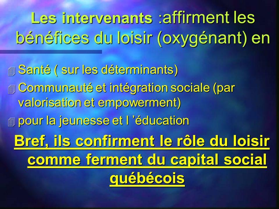 Aujourdhui le développement du Québec n Les industries du divertissement, de la culture, du tourisme – lieux des pratiques majoritaires de temps libre