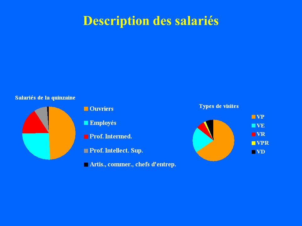 Description des salariés