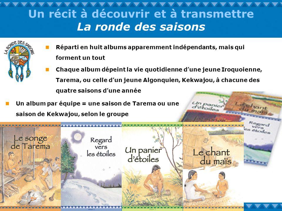 Un récit à découvrir et à transmettre La ronde des saisons Réparti en huit albums apparemment indépendants, mais qui forment un tout Chaque album dépe
