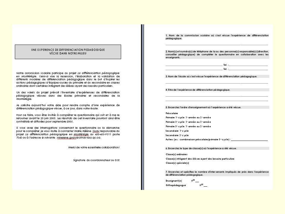 3 Plan de la rencontre Synthèse de modèles de DP expérimentés en Montérégie en 2004-2005 Recherche-action sur la DP Objectifs et structure Vision et f