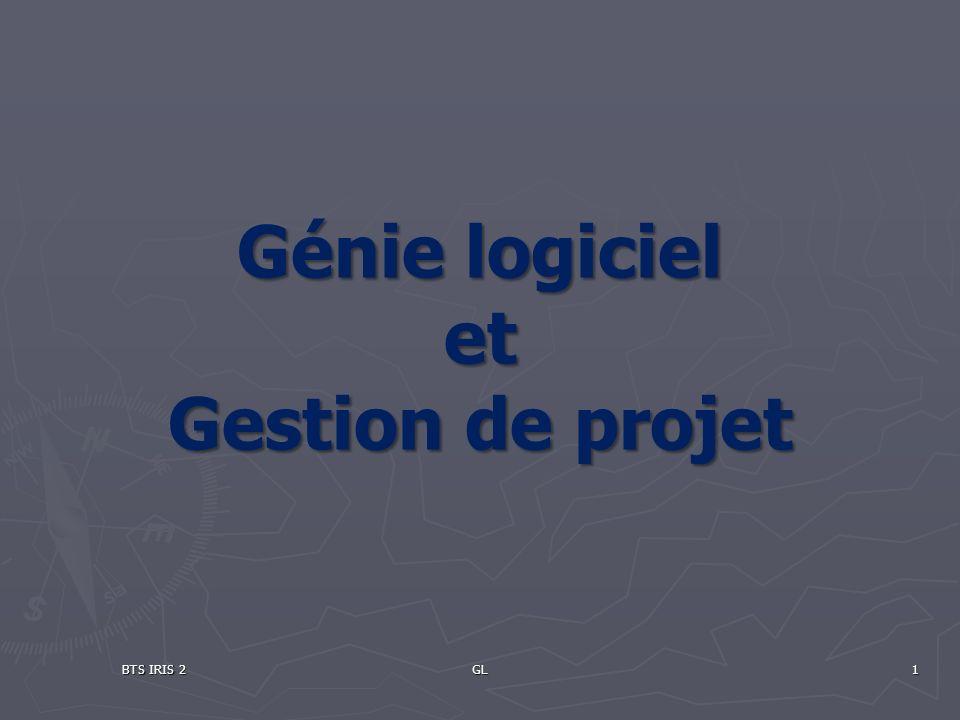 Génie logiciel et Gestion de projet BTS IRIS 2GL1
