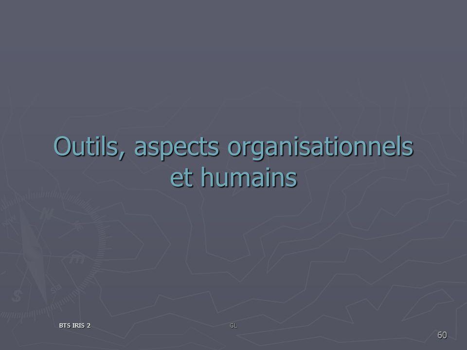 Outils, aspects organisationnels et humains BTS IRIS 2GL 60