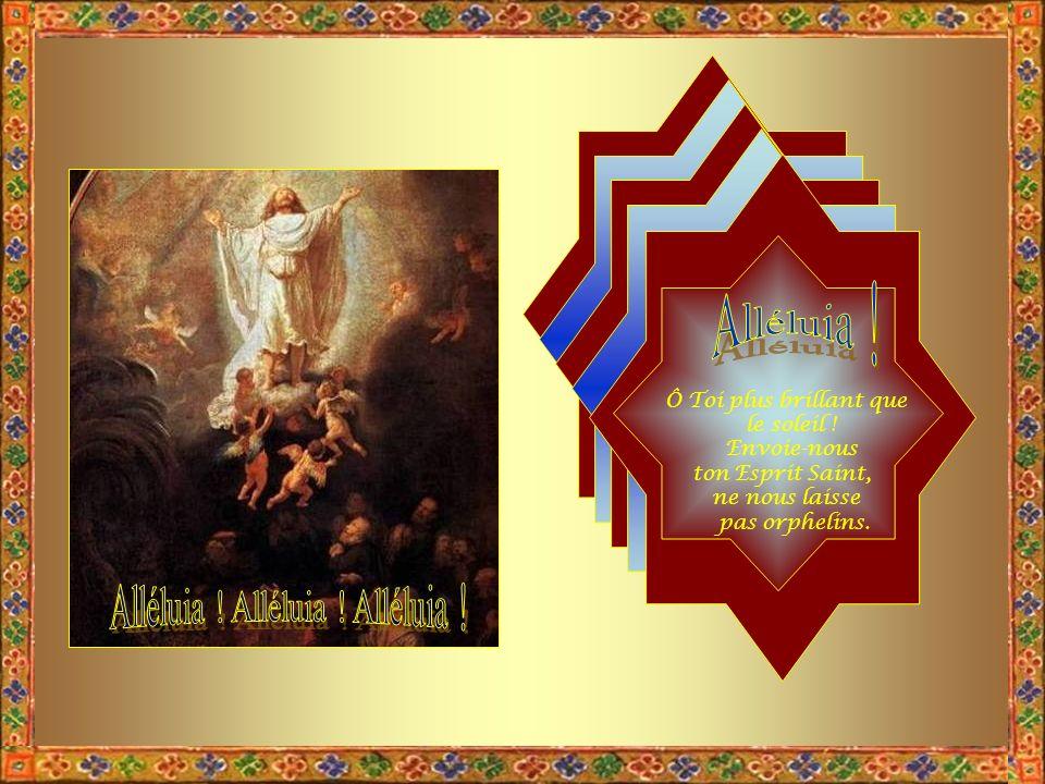 Ses pieds se poseront en ce jour sur la montagne des Oliviers qui est en face de Jérusalem, à lOrient.