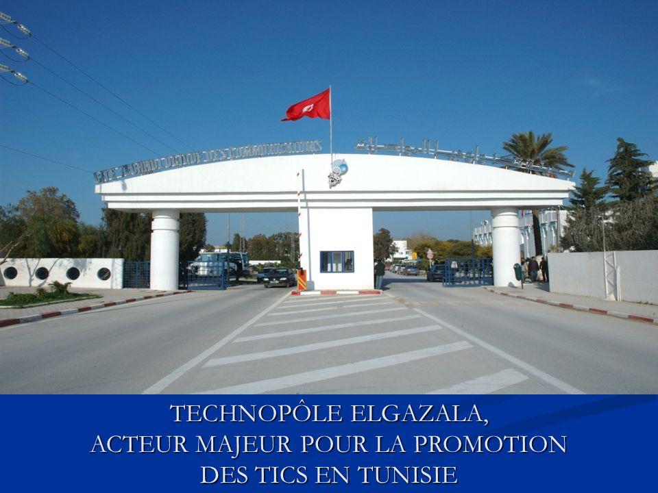Édifier une société basée sur la connaissance Devenir une destination technologique Développer un tissu dentreprises en TIC, compétitives et solides Offrir une opportunité daccès numérique à tous TIC en Tunisie: objectifs